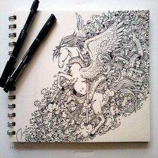 фото рисунки для скетчбука