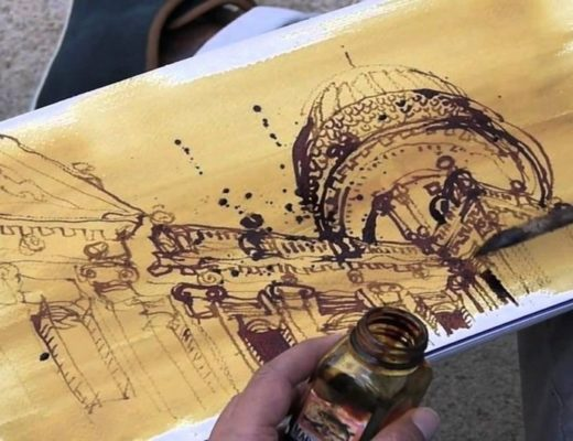 Travel sketching. Наброски о путешествиях