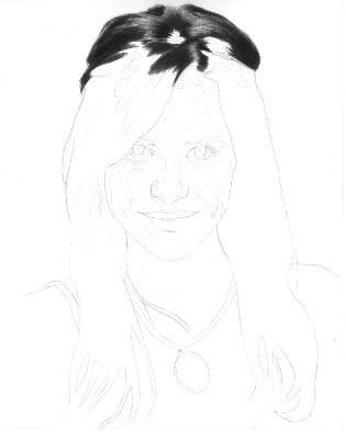 Как нарисовать лицо пошагово