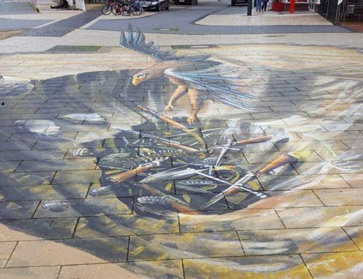 Street Painting — уникальные 3D рисунки на асфальте