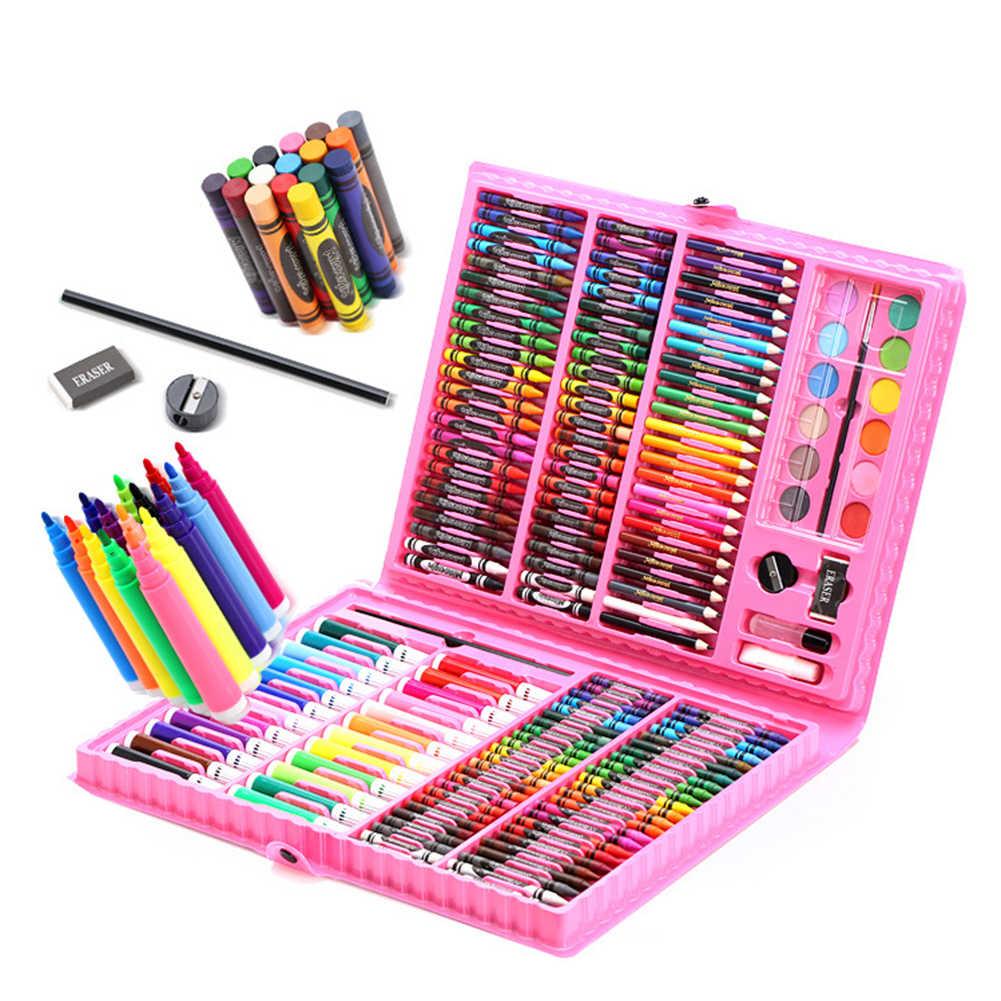 Набор инструментов для рисования цветными карандашами