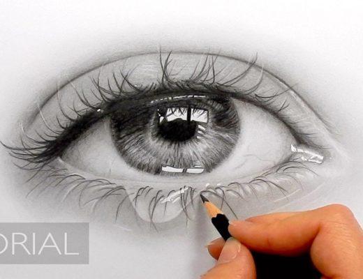 Как нарисовать слёзы в глазах: поэтапная инструкция