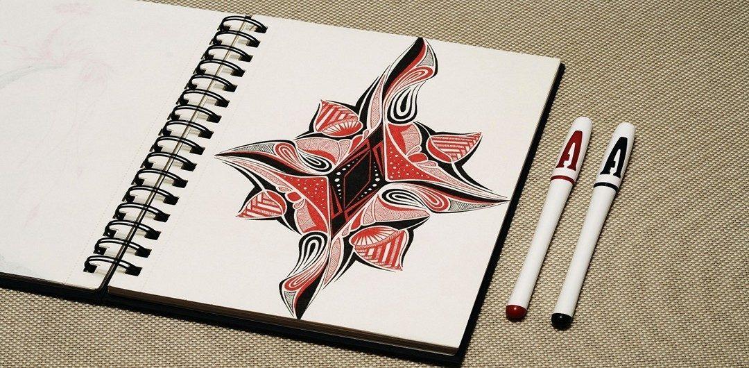 Скетчбук, который научит вас рисовать