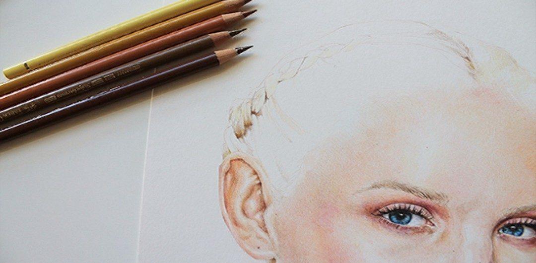 Рисуем цветными карандашами