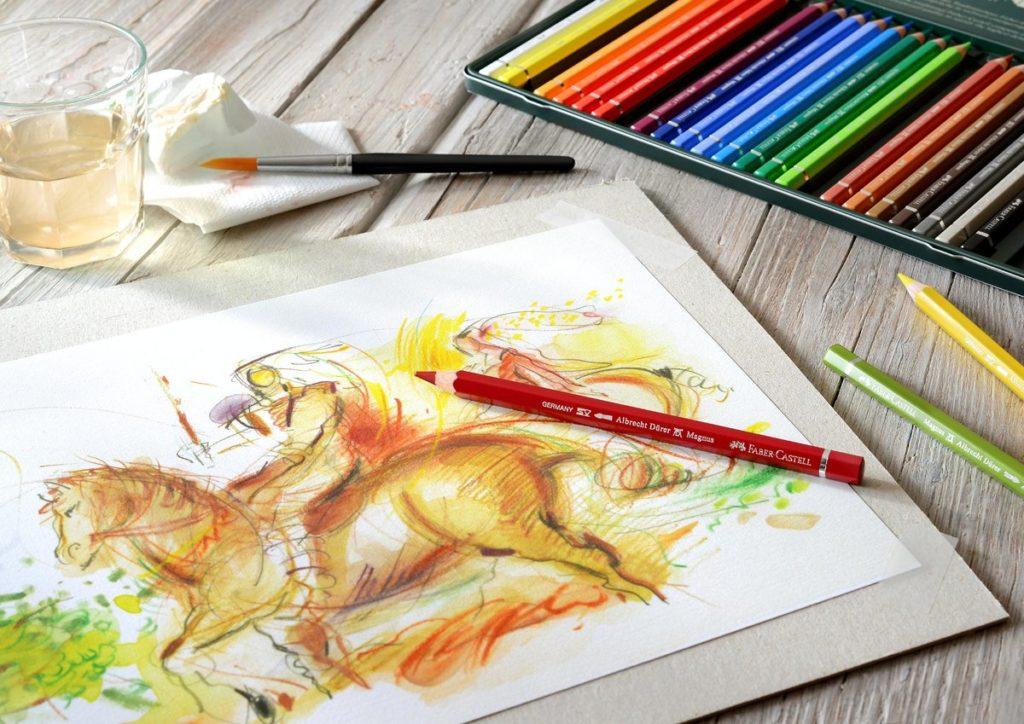 Рисунки карандашами